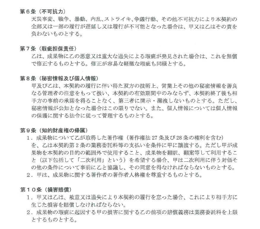 個人情報保護法と契約書
