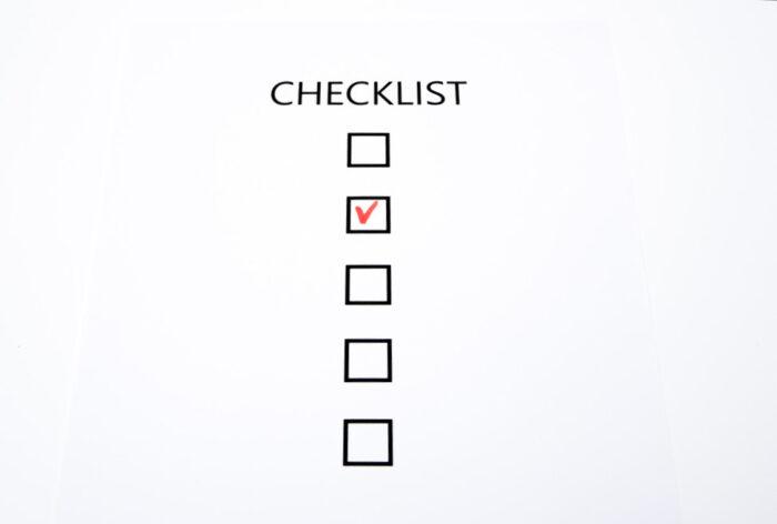 校正・校閲のチェックリスト[外注依頼・仕事のお願い・校正手順の確認に]