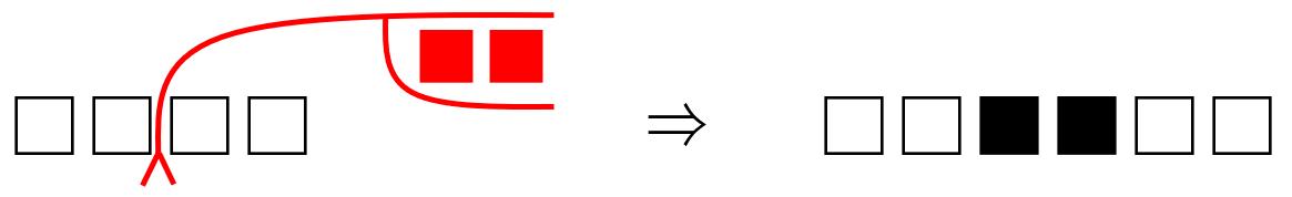 校正記号の挿入